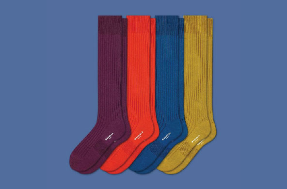 Ribbed Dress Over the Calf Sock Pack by Bombas