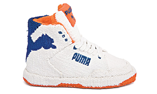 Puma Cat High Knicks Tapestry Side Sneakers