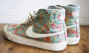 Floral Nikes Are Oh So Necessary.