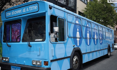 Lava Mae Sets Up Mobile Showers for the Homeless